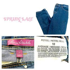 Gloria Vanderbilt Jeans size 10P straight leg